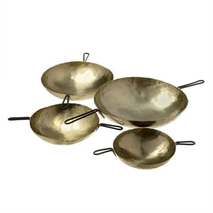 Laurel Metal Measuring Cups - Set of 4 - Gold