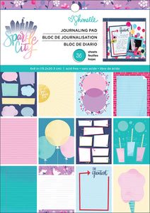 "American Crafts Single-Sided Paper Pad 6""X8"" 36/Pkg-Shimelle Sparkle City"