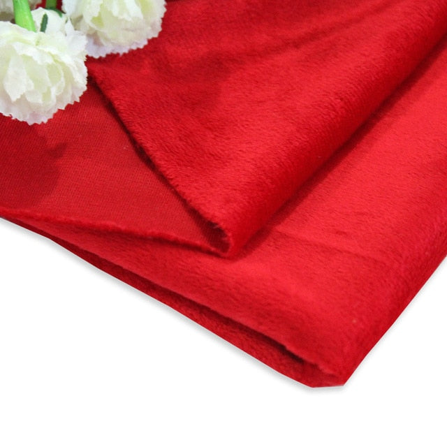 50cm*160cm Short Plush Super Soft Plush Fabric