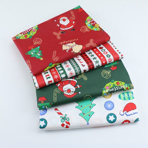 Christmas Printed cotton twill fabric