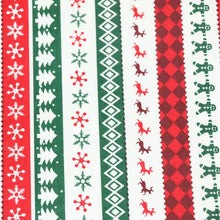Load image into Gallery viewer, Christmas Printed cotton twill fabric