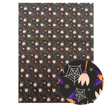 Load image into Gallery viewer, 22*30 cm Faux Leather Sheet for Halloween (Assorted Patterns Available)