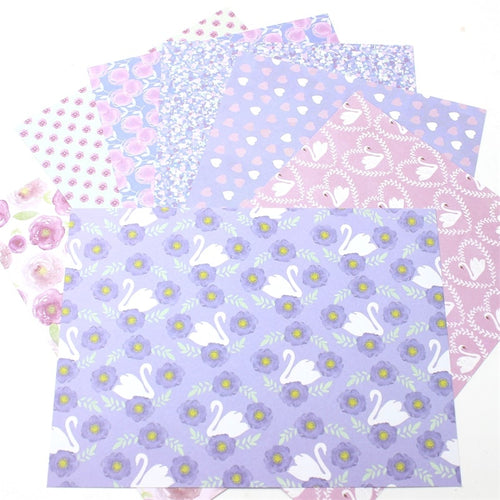 14pcs Single-Side Printed Background Paper
