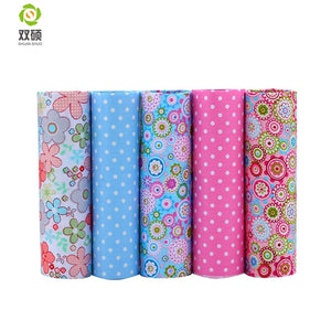 40*50cm 5pcs/lot Cotton Fabric Colorful Fat Quarter Bundles Fabric
