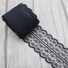 Load image into Gallery viewer, Lucia crafts 5yards/lot 45mm Embroidered Net Lace Trim Fabric