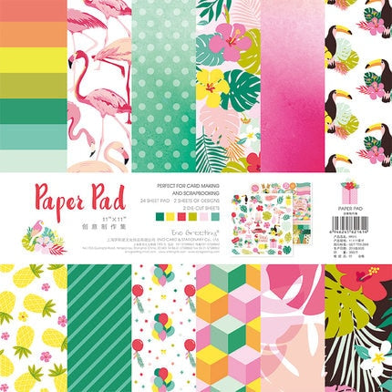 NEW! ENO Greeting Animal Party Cardstock Paper Pad