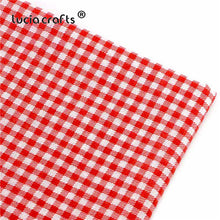 Load image into Gallery viewer, Lucia crafts 1 piece 50*50cm Red Range Print Cotton Fabric