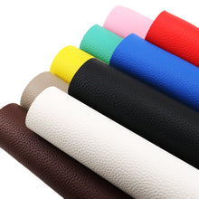 Load image into Gallery viewer, 20*34cm Plain Faux Artificial Synthetic Leather Fabric in Assorted Colors