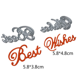 Metal cutting Dies (Sets of Hearts, Circles, Rectangles, Oval, Lace and More)