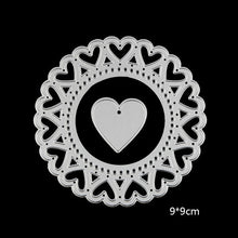 Load image into Gallery viewer, Metal cutting Dies (Sets of Hearts, Circles, Rectangles, Oval, Lace and More)