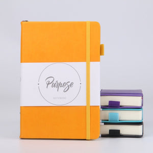 Leather Notebook Hardcover Bullet Journal  with 125 Sheets of  Thick  Stationery
