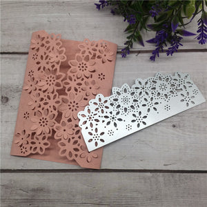 Flower Floral Edge Border Cutting Dies