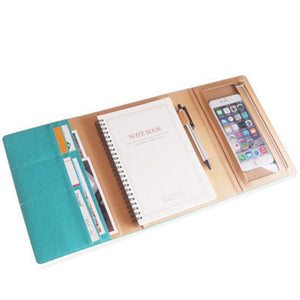 A5 Office Planner/Journal Organizer   Options: Notebook(Lined or Blank)
