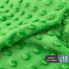 Load image into Gallery viewer, 45x45cm 30Colors Super Soft Minky Dot Anti-Pilling Fabric