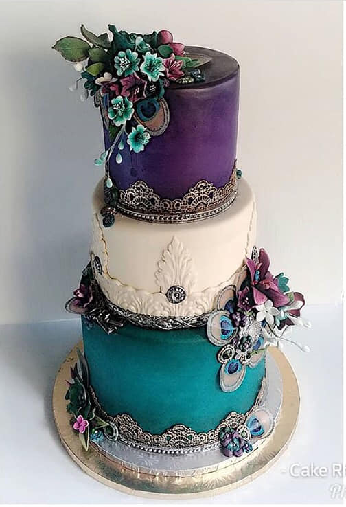 Buttercream Purple