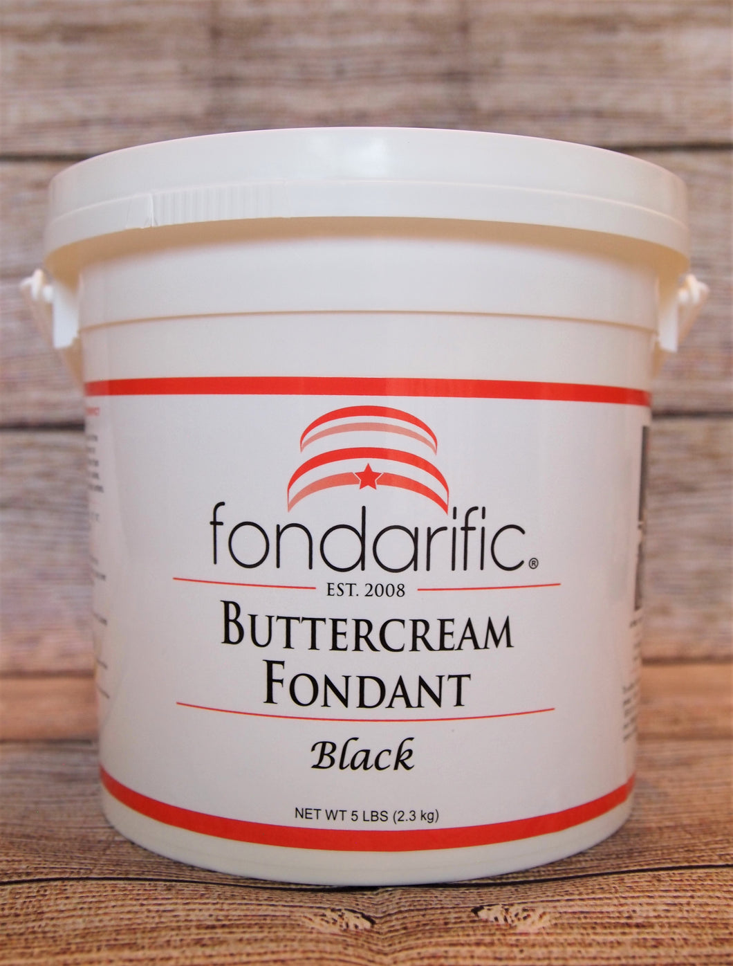 5lb Buttercream Black