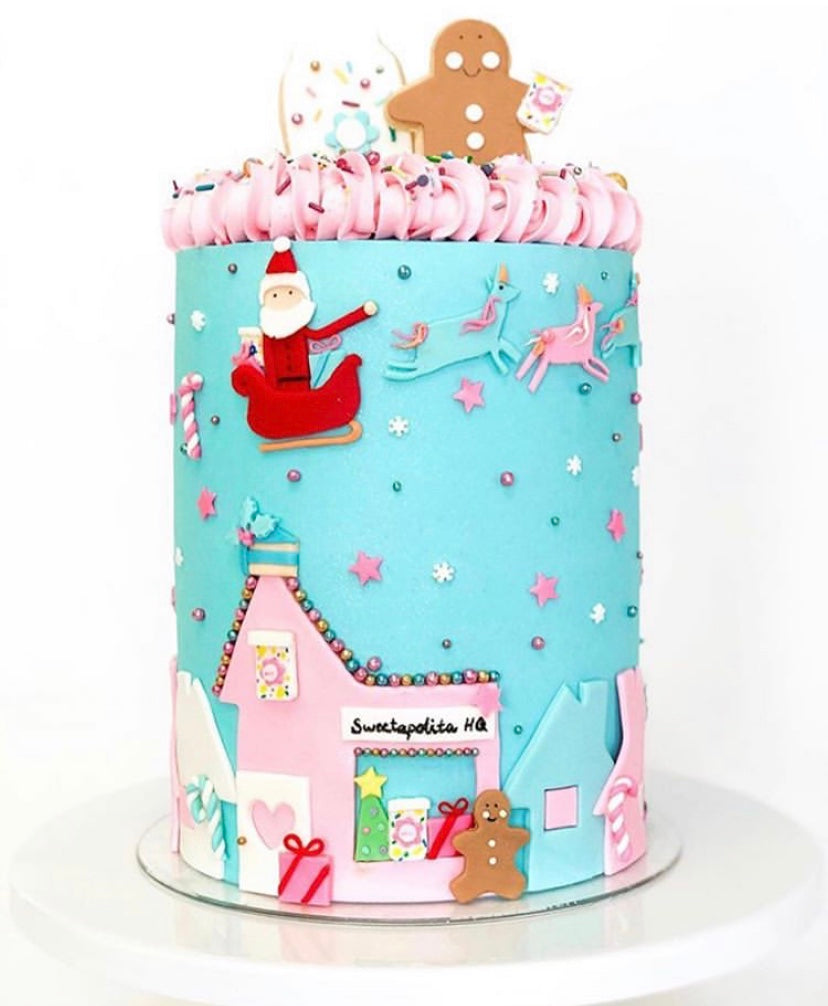 Merry & Bright Fondant Kit
