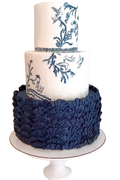 Buttercream Navy