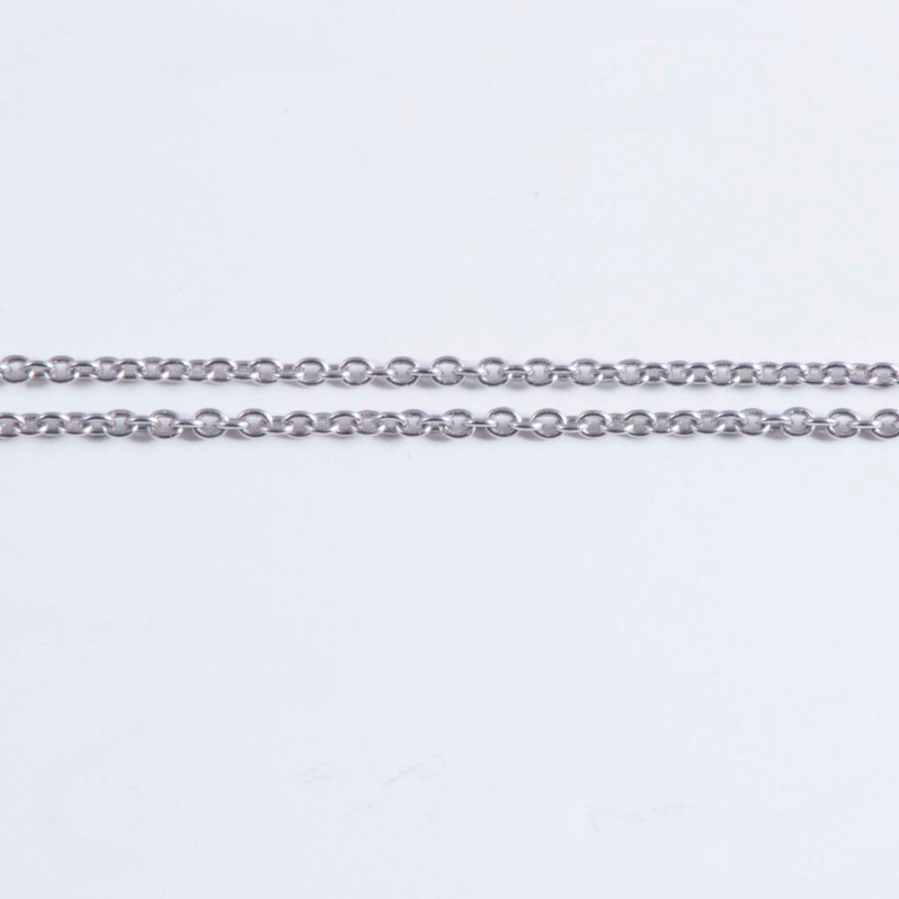 Sterling Silver Trace Link Chain
