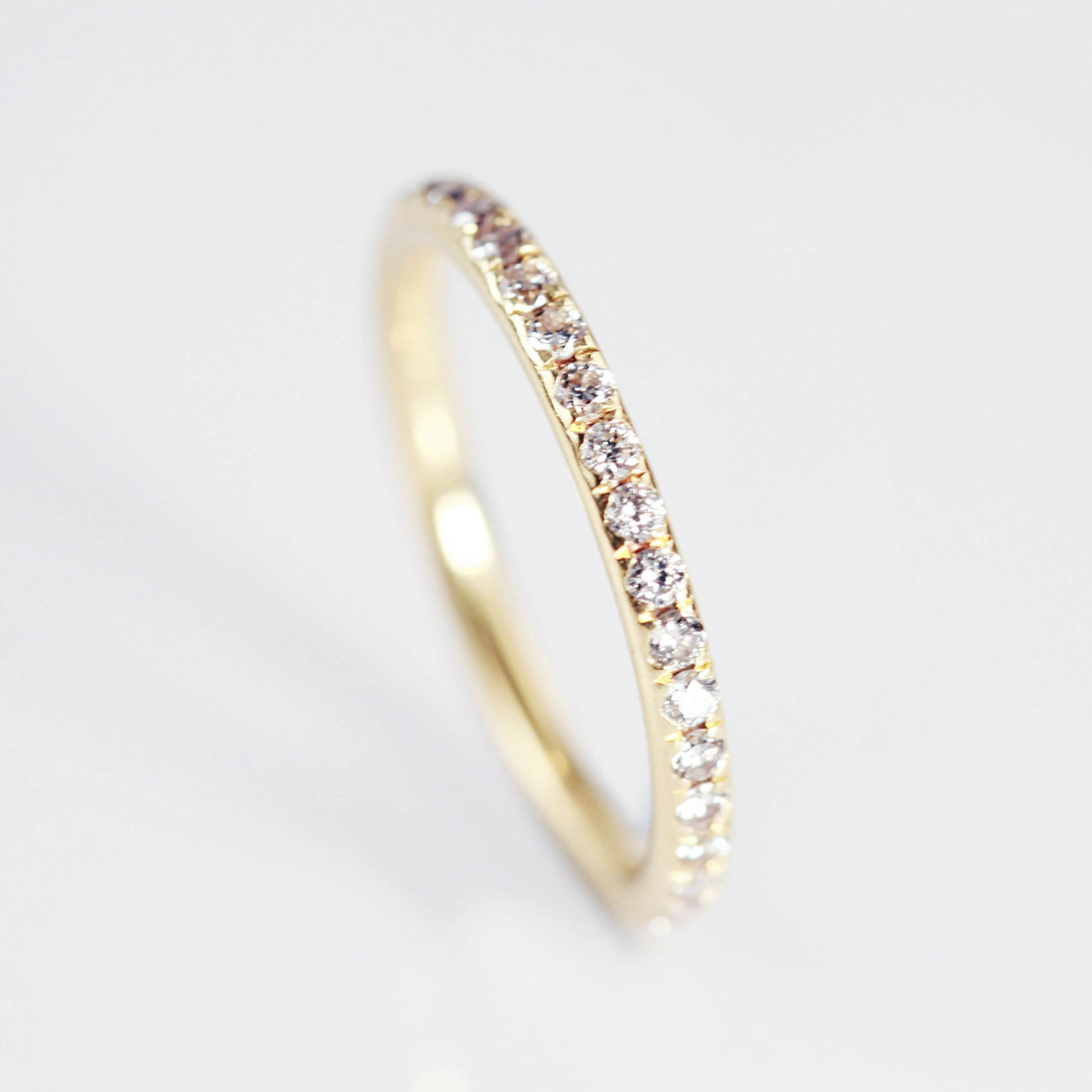 Pave Diamond Set Wedding Ring
