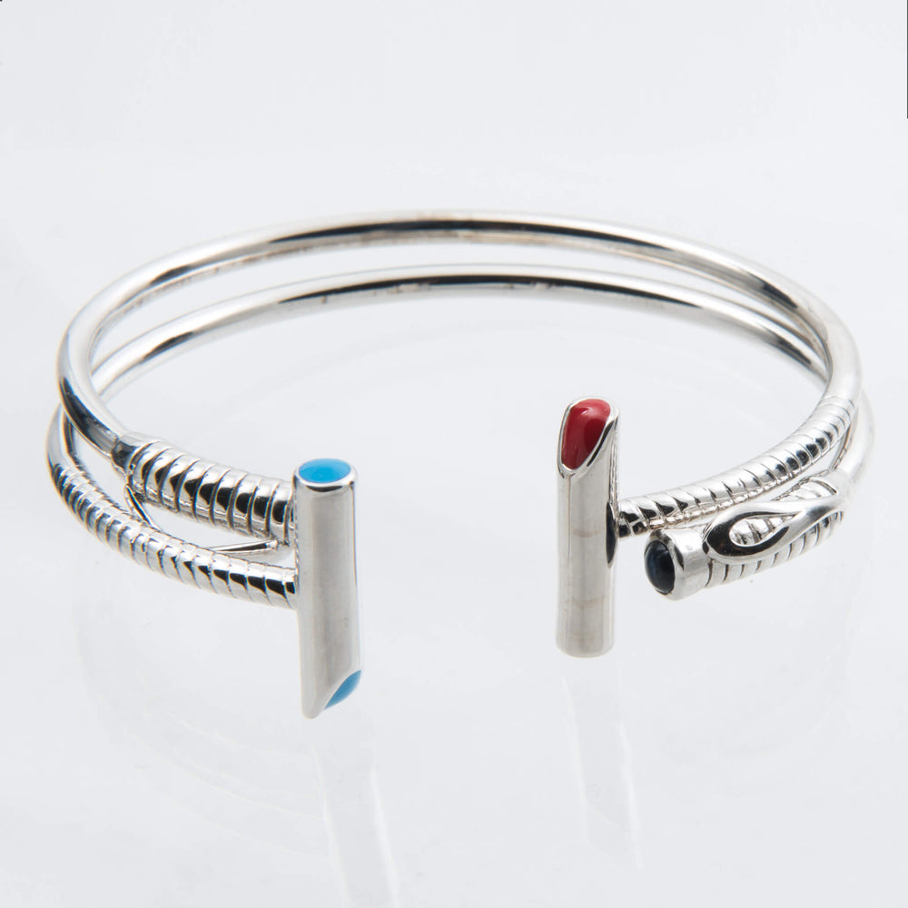 Classic Polo Mallet Bangle
