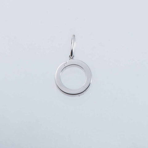Sterling Silver Detachable Charm Loop