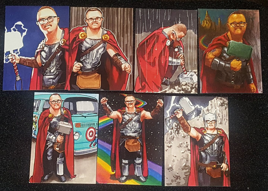 Always Be Thor Trading Cards