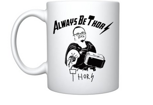 Always be Thor mug front