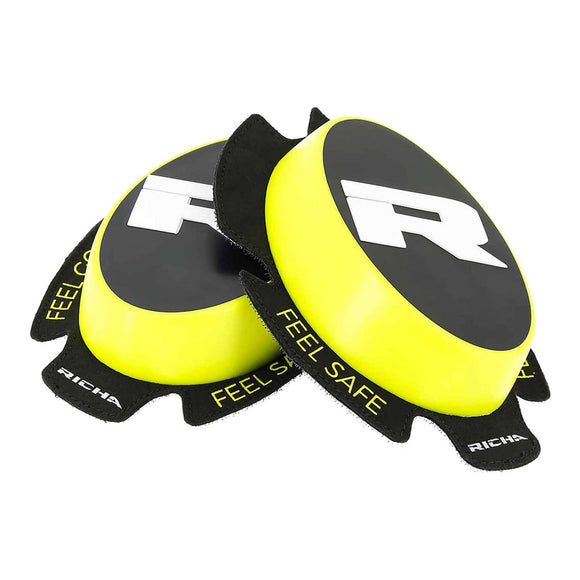 RICHA TPU KNEE SLIDERS - FLURO