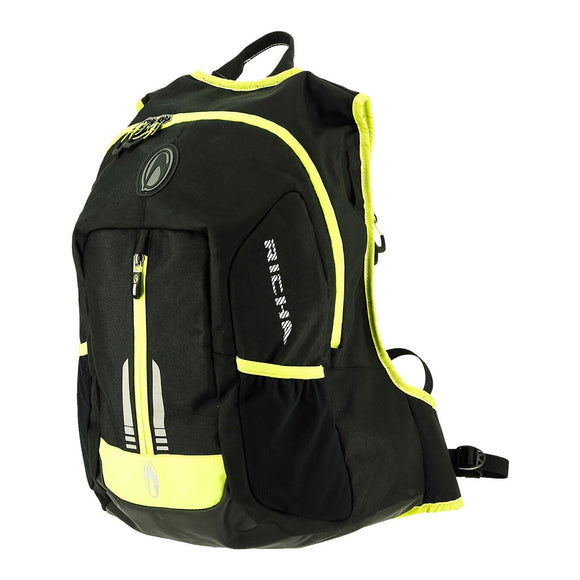 RICHA PADDOCK W.PROOF BACKPACK BLK/YEL