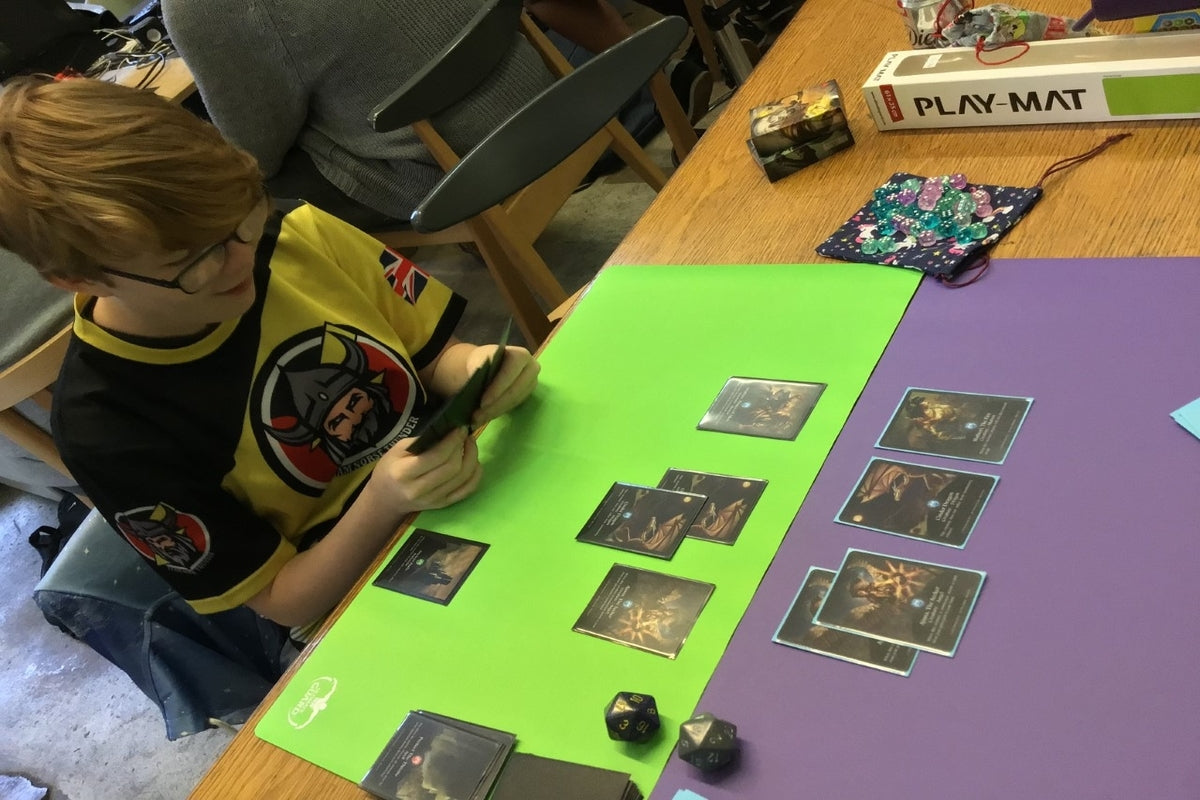 Players Competing in Invasion TCG