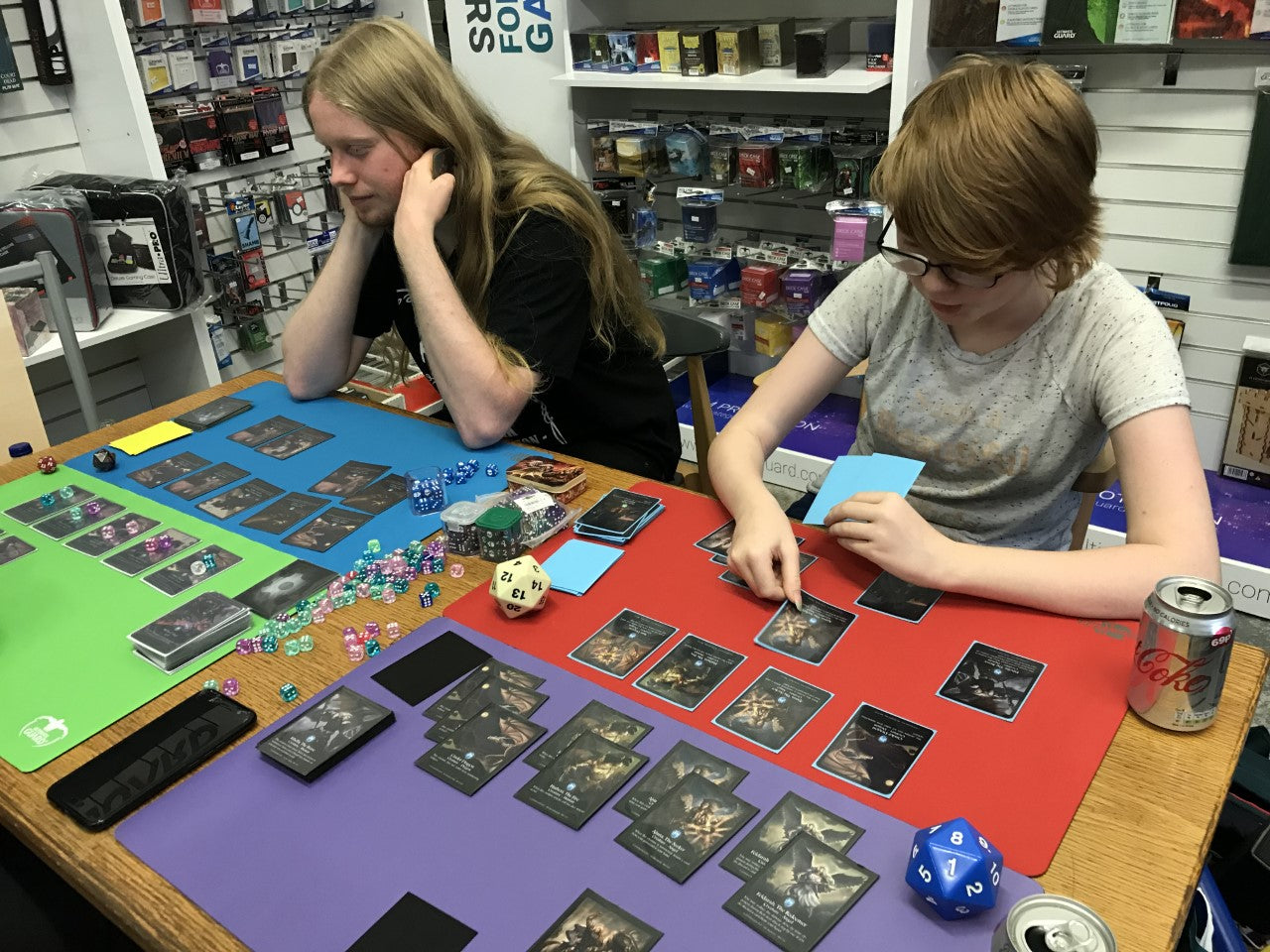 Play Invasion TCG at an Event