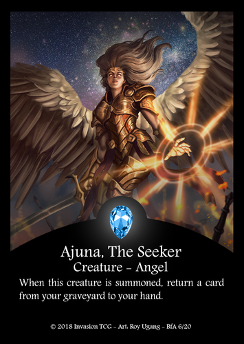 Ajuna, The Seeker