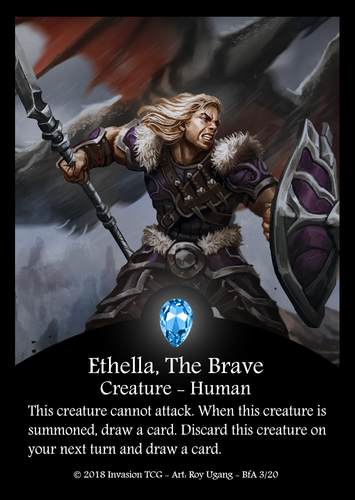 Ethella, The Brave (Foil)