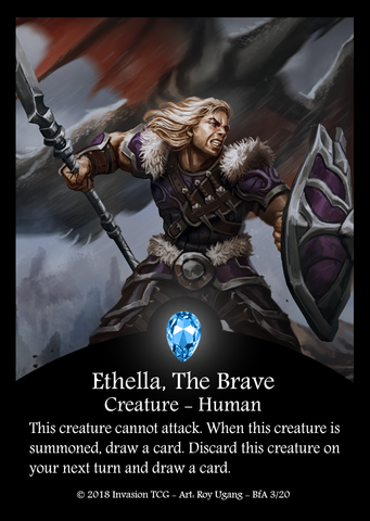 Ethella, The Brave - Invasion TCG Card