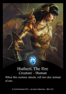 Hutheri, The Fire (Foil)