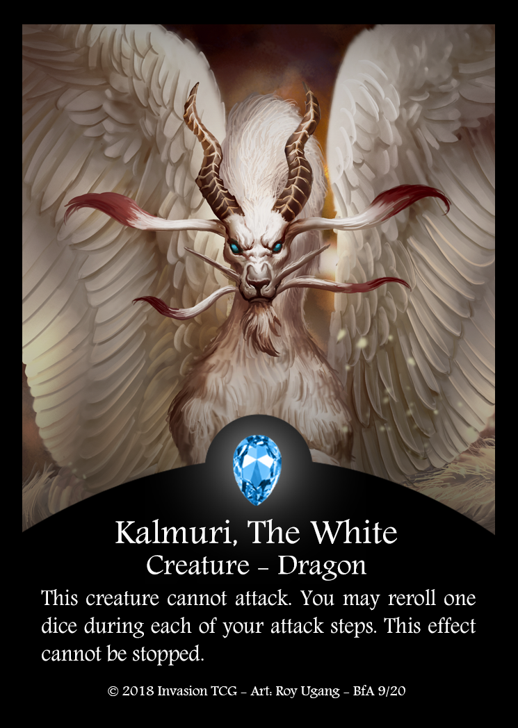 Kalmuri, The White (Foil)