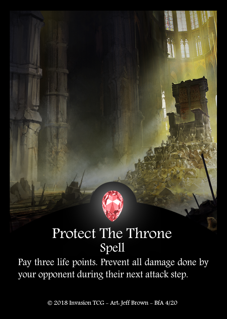 Protect The Throne (Foil)