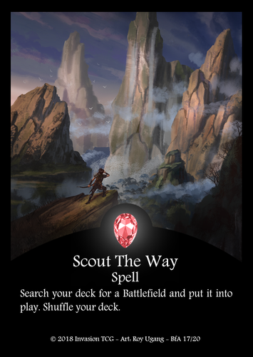 Scout The Way (Foil)