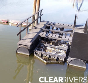 CLEAR RIVERS LITTER TRAPS