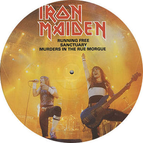 Running Free (Live) : Picture Disc