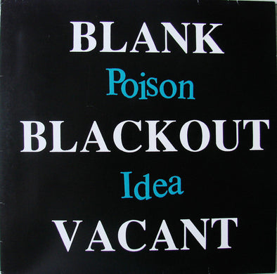 Blank Blackout Vacant : Unofficial Release