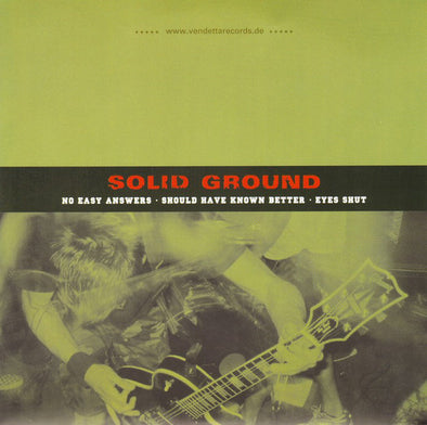 Solid Ground / Never Enough : Split