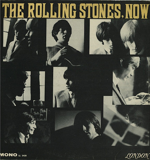 The Rolling Stones Now! : USA Blue Label Press
