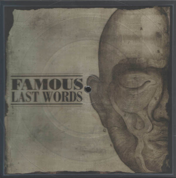 Famous Last Words : Shaped Picture Disc