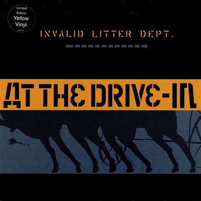 Invalid Litter Dept. : Yellow Vinyl