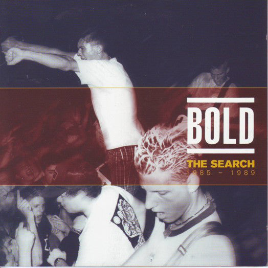 The Search : 1985- 1989 : Orange Vinyl