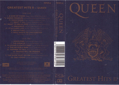 Greatest Hits II : Cassette