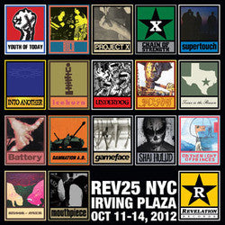 Rev 25 NYC : Clear Vinyl