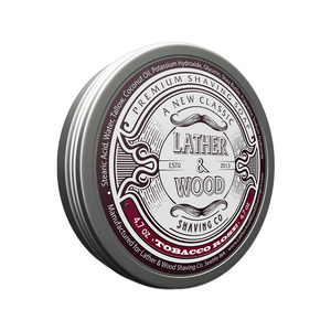 Tobacco Rose Shaving Soap